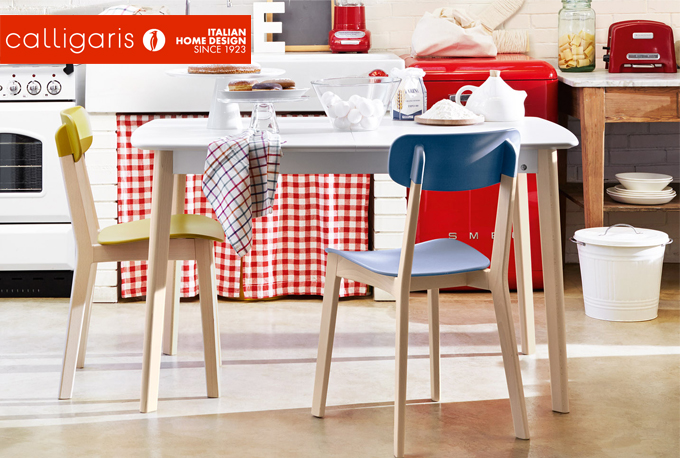 CREAM TABLE by Calligaris